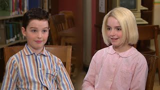 Young Sheldon: Watch Iain Armitage and Mckenna Grace Interview Each Other! (Exclusive)