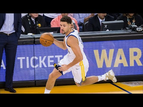 Klay Thompson Perfect From 3 5-5! Durant 36 Pts 11 Asts! 2017-18 Season