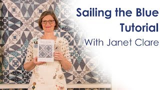 Sailing the Blue Tutorial Demonstrating the Marti Michell Storm at Sea Templates