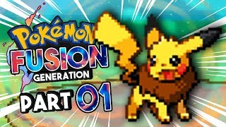 Pokemon Fusion Generation part 1 PIKAVEE! Pokemon Fan Game Gameplay Walkthrough