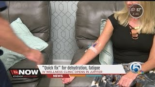 'Quick fix' for dehydration, fatigue