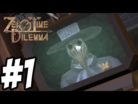 Zero Time Dilemma - Gameplay Walkthrough Part 1 - First 43 Minutes [ 3DS ]