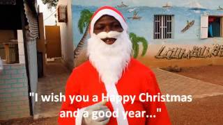 preview picture of video 'Father Christmas in Ouagadougou'