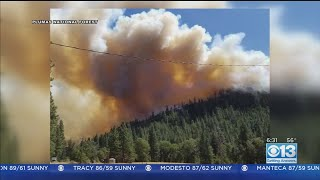 Walker Fire Continues To Grow