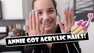 Annie Got Acrylic Nails 💅 (WK 374.6) | Bratayley