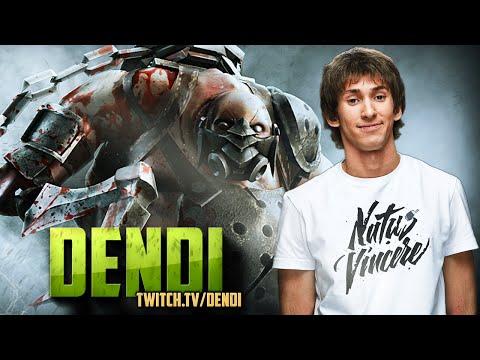 Dota 2 Stream: Na`Vi Dendi - Pudge (Gameplay)