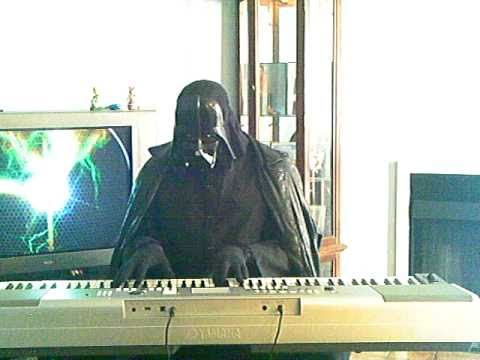 Star wars Imperial march played by darth vader piano Jazz