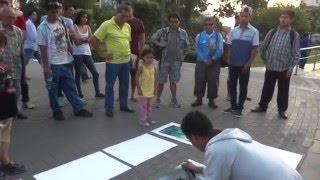 NO VAS A CREER LO QUE HACE ESTE JOVEN | Arte en las calles | Video increible 2018