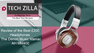 The BEST  £200 HEADPHONES on the market, Introducing the Denon Music Maniac AH-MM400 Headphones