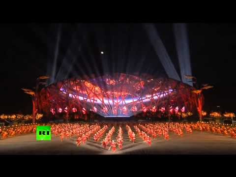 Fascinating! China lights up skies with eco-friendly fireworks for APEC