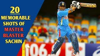 20 Memorable Shots of Sachin Tendulkar || Cricket Addict ||