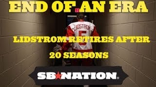 Nicklas Lidstrom Retires After 20 Hall Of Fame Worthy Seasons With Red Wings thumbnail