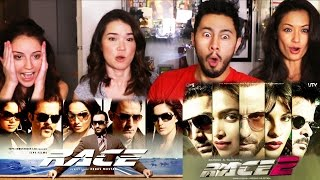 RACE 1 & RACE 2 Trailer Reactions Discussions   4-WAY