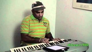 K'NAAN   Wavin' Flag (Coca Cola Celebration Mix) On Keyboard