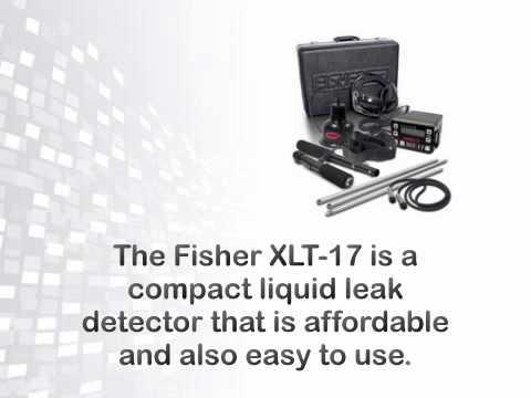 Fisher XLT-17 Liquid Leak Detector - metaldetector.com