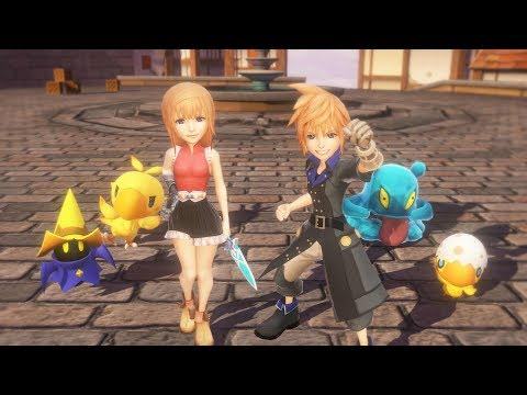World of Final Fantasy Coming to Steam (Trailer)