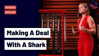 As Seen on Shark Tank: Sarah Apgar - Founder of FitFighter (Season 2, Ep. 13)