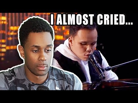I ALMOST CRIED... | Golden Buzzer- Kodi Lee Wows You With A Historical Music Moment! - (видео)