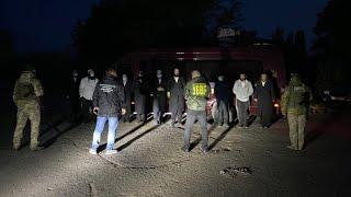 Пограничники в Одесской области обнаружили автобус с хасидами-нелегалами