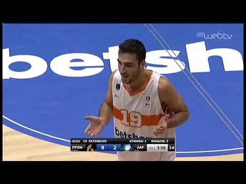 Basket League : ΠΡΟΜΗΘΕΑΣ – ΛΑΡΙΣΑ   ΑΓΩΝΑΣ   04/01/2020   ΕΡΤ