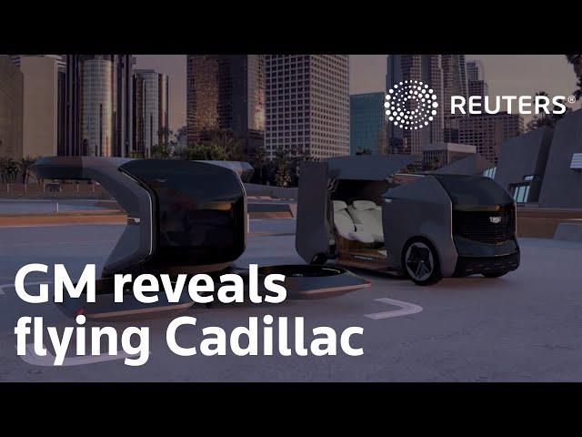 Cadillac enthüllt PAV-Pod-Konzept Das ist ein Toaster-förmiger Partybus
