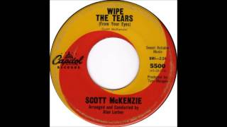 Scott McKenzie - Wipe The Tears CAPITOL 5500 1965