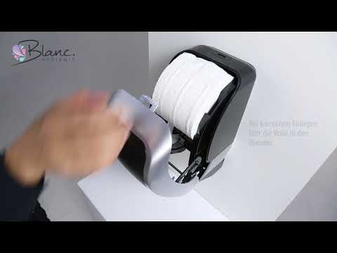 Toilettenpapierspender Doppelrollen Blanc Hygienic COSMOS 2250 1080p