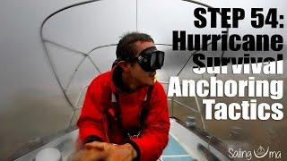 HURRICANE SURVIVAL TACTICS (I Stayed on the boat) — Sailing Uma [Step 54]