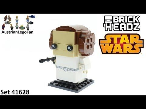 Vidéo LEGO BrickHeadz 41628 : Princesse Leia Organa