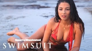 Jessica Gomes Goes Down Under In This Wet Paradise | Uncovered | Sports Illustrated Swimsuit
