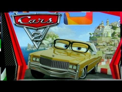 Mel Dorado Diecast #27 CARS 2 Disney Pixar Mattel Collection Toy Review By Blucollection