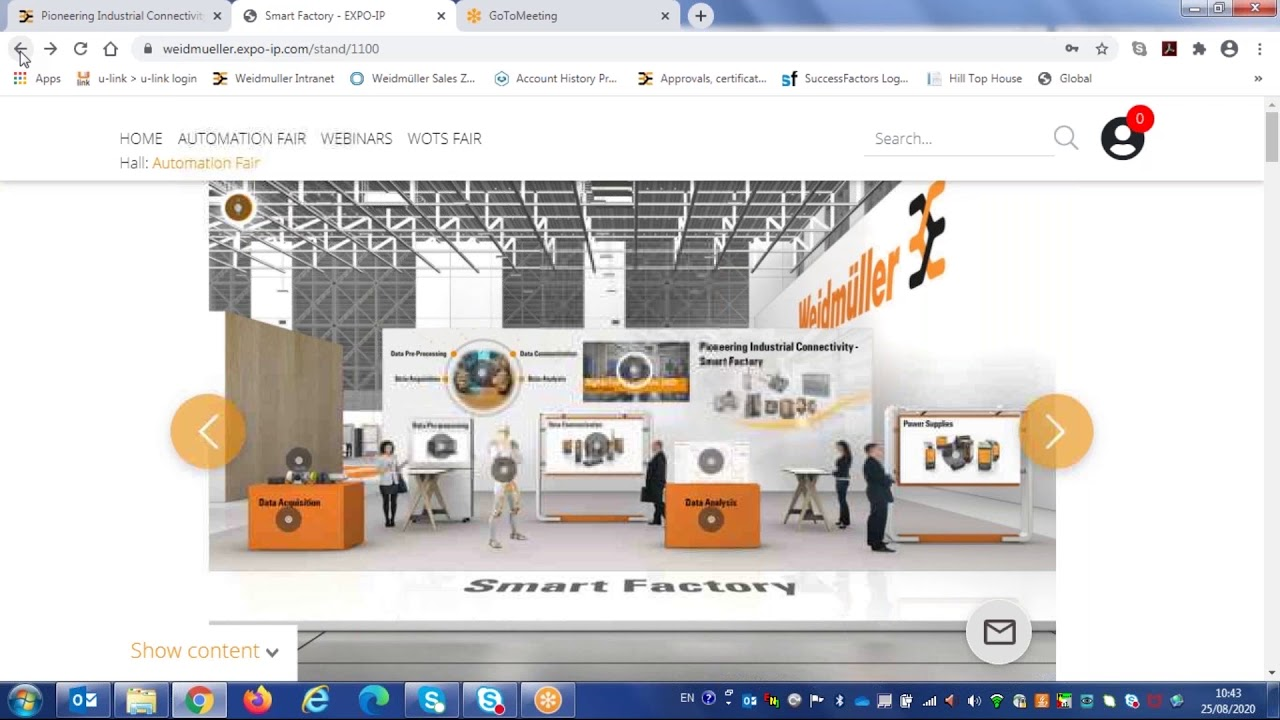 Weidmuller Virtual Fair