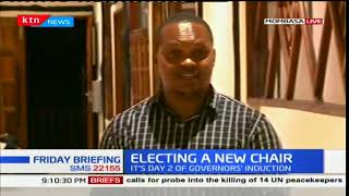 Council of Governors hold elections on new chair while in Kwale County