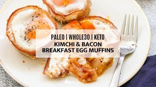 keto breakfast bacon egg muffins