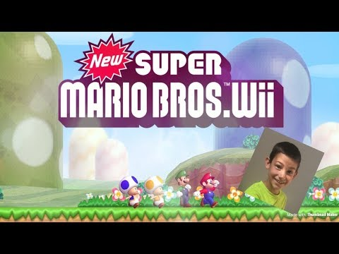 Download Another Super Mario Bros Wii World 8 Final Castle Video 3GP