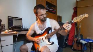 Every Time I Die - White Smoke (guitar cover by Rusty)