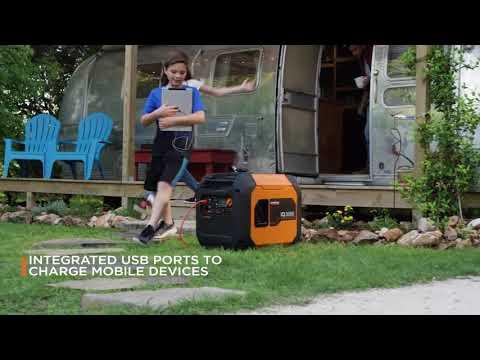 Generac iQ3500 in Prairie Du Chien, Wisconsin - Video 1