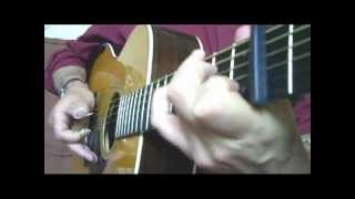 DOC WATSON: TELLIN' MY TROUBLES TO MY OLD GUITAR - Cover and Tribute by M.Lelong
