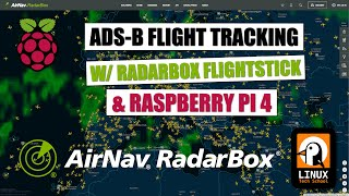 Flight Tracking with Radarbox Flightstick, Raspberry Pi 4 and Linux