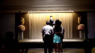 KMUPH99謝師宴進場牧師證婚