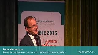 Toppmøte 2015 – Peter Kinderman