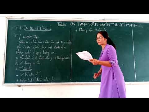 Ôn tập Ngữ văn 8 (văn bản thuyết minh)- cô Nở