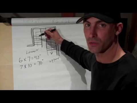 How to calculate, layout and build stairs- Part 1 of 3