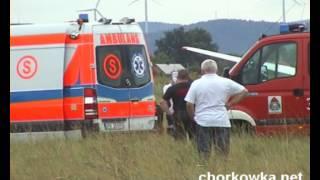 Krosno: Wypadek szybowca na lotnisku w Krośnie