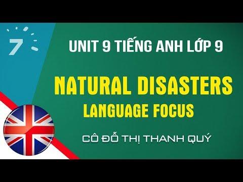 TIẾNG ANH 9 - UNIT 10 - LANGUAGE FOCUS  - TA7yrs