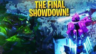 the final showdown! robot fight monster fight!