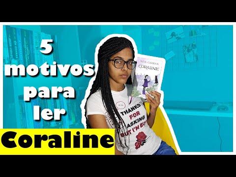 5 motivos para ler Coraline | HORA DE NINAR