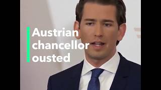 Austrian Chancellor Sebastian Kurz, Europe's Youngest Leader, Ousted After Nationalists Turn on Him