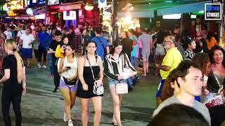Phuket Nightlife Bangla Road After Midnight