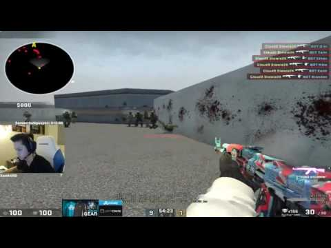 Practice aiming at the head with the mouse without bullet